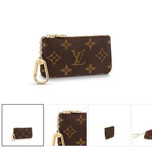 Authentic Louis Vuitton Key Pouch Keychain Wallet